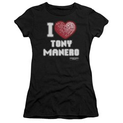 Saturday Night Fever - Juniors I Heart Tony Premium Bella T-Shirt