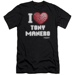 Saturday Night Fever - Mens I Heart Tony Premium Slim Fit T-Shirt