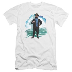 Tintin - Mens Haddock Premium Slim Fit T-Shirt