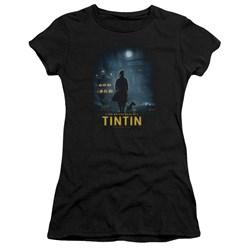 Tintin - Juniors Title Poster Premium Bella T-Shirt