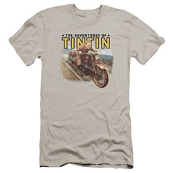 Tintin - Mens Open Road Premium Slim Fit T-Shirt