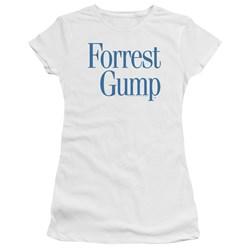 Forrest Gump - Juniors Logo Premium Bella T-Shirt