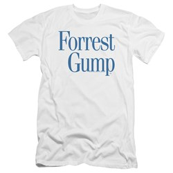 Forrest Gump - Mens Logo Premium Slim Fit T-Shirt