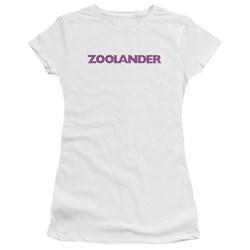 Zoolander - Juniors Logo Premium Bella T-Shirt