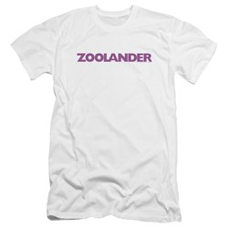 Zoolander - Mens Logo Premium Slim Fit T-Shirt
