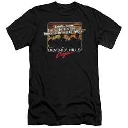 Beverly Hills Cop - Mens Banana In My Tailpipe Premium Slim Fit T-Shirt