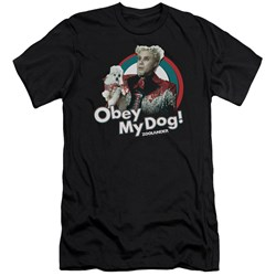 Zoolander - Mens Obey My Dog Premium Slim Fit T-Shirt