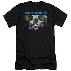 Galaxy Quest - Mens Cute But Deadly Premium Slim Fit T-Shirt