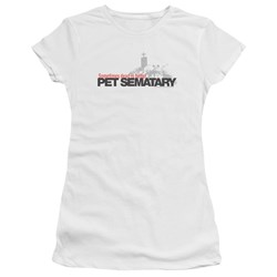 Pet Sematary - Juniors Logo Premium Bella T-Shirt