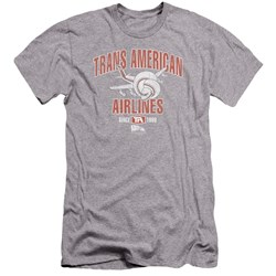 Airplane - Mens Trans American Premium Slim Fit T-Shirt