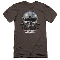 Top Gun - Mens Iceman Helmet Premium Slim Fit T-Shirt