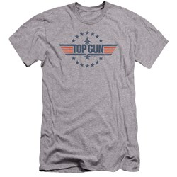 Top Gun - Mens Star Logo Premium Slim Fit T-Shirt
