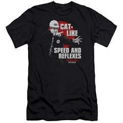 Tommy Boy - Mens Cat Like Premium Slim Fit T-Shirt