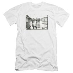 Warriors - Mens Rolling Deep Premium Slim Fit T-Shirt