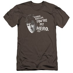 Ferris Bueller - Mens My Hero Premium Slim Fit T-Shirt