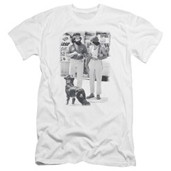 Up In Smoke - Mens Cheech Chong Dog Premium Slim Fit T-Shirt