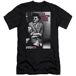 Pretty In Pink - Mens I Wouldve Premium Slim Fit T-Shirt