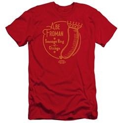 Ferris Bueller - Mens Abe Froman Premium Slim Fit T-Shirt