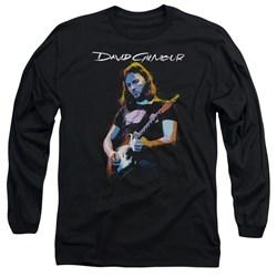 David Gilmour - Mens Guitar Gilmour Long Sleeve T-Shirt