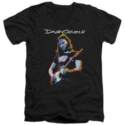 David Gilmour - Mens Guitar Gilmour V-Neck T-Shirt