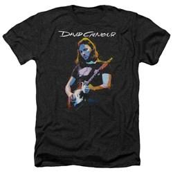 David Gilmour - Mens Guitar Gilmour Heather T-Shirt