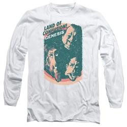 Genesis - Mens Land Of Confusion Long Sleeve T-Shirt
