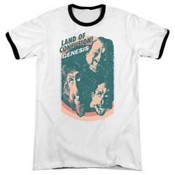 Genesis - Mens Land Of Confusion Ringer T-Shirt