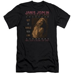 Janis Joplin - Mens One Night Only Premium Slim Fit T-Shirt
