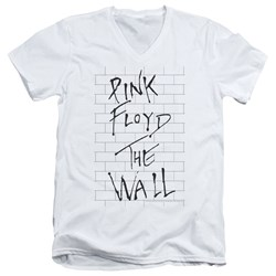 Roger Waters - Mens The Wall 2 V-Neck T-Shirt