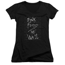 Roger Waters - Juniors The Wall 2 V-Neck T-Shirt