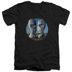 Pink Floyd - Mens Division Bell Cover V-Neck T-Shirt