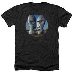Pink Floyd - Mens Division Bell Cover Heather T-Shirt