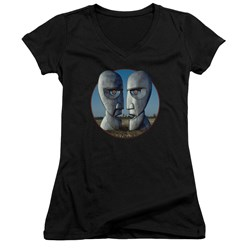 Pink Floyd - Juniors Division Bell Cover V-Neck T-Shirt