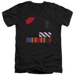 Pink Floyd - Mens The Final Cut V-Neck T-Shirt