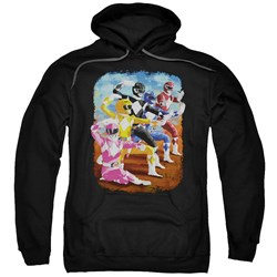 Power Rangers - Mens Impressionist Rangers Pullover Hoodie