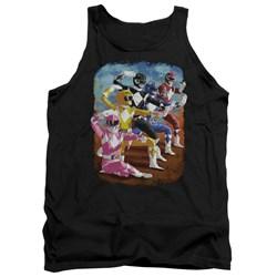 Power Rangers - Mens Impressionist Rangers Tank Top