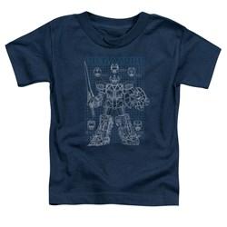 Power Rangers - Toddlers Mega Plans T-Shirt