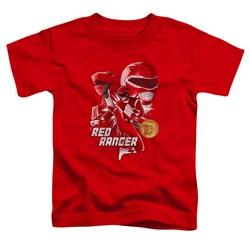 Power Rangers - Toddlers Red Ranger T-Shirt