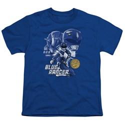 Power Rangers - Youth Blue Ranger T-Shirt