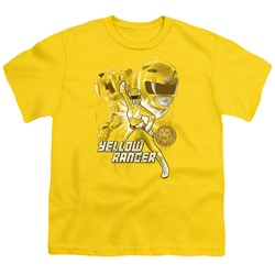 Power Rangers - Youth Yellow Ranger T-Shirt