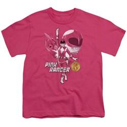 Power Rangers - Youth Pink Ranger T-Shirt