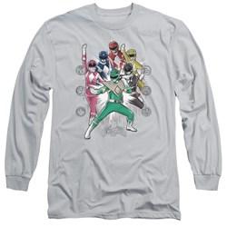 Power Rangers - Mens Ranger Manga Long Sleeve T-Shirt