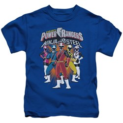 Power Rangers - Youth Team Lineup T-Shirt