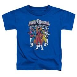 Power Rangers - Toddlers Team Lineup T-Shirt
