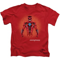 Power Rangers - Youth Red Power Ranger Graphic T-Shirt