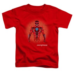 Power Rangers - Toddlers Red Power Ranger Graphic T-Shirt