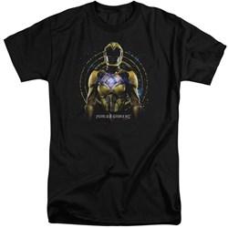 Power Rangers - Mens Yellow Ranger Tall T-Shirt