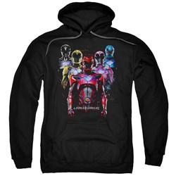 Power Rangers - Mens Team Of Rangers Pullover Hoodie