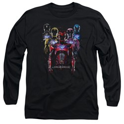 Power Rangers - Mens Team Of Rangers Long Sleeve T-Shirt
