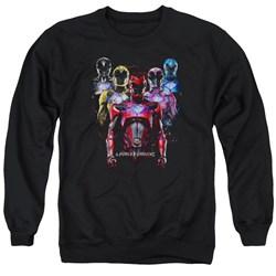 Power Rangers - Mens Team Of Rangers Sweater